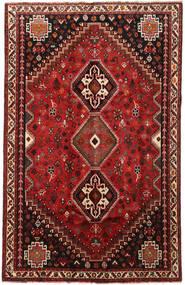 Ghashghai Matto 167X264 Itämainen Käsinsolmittu Tummanpunainen/Tummanruskea (Villa, Persia/Iran)