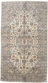 Keshan Tæppe 144X250 Ægte Orientalsk Håndknyttet Lysegrå/Beige (Uld, Persien/Iran)