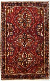 Ghashghai Koberec 159X254 Orientální Ručně Tkaný Tmavě Červená/Tmavě Hnědá (Vlna, Persie/Írán)