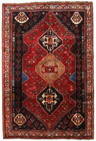 Ghashghai Matto 163X241 Itämainen Käsinsolmittu Tummanpunainen/Tummanruskea (Villa, Persia/Iran)