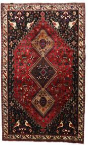 Ghashghai Teppich  165X268 Echter Orientalischer Handgeknüpfter Dunkelrot/Dunkelbraun (Wolle, Persien/Iran)