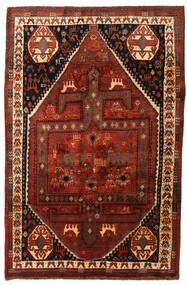 Ghashghai Tappeto 174X261 Orientale Fatto A Mano Marrone Scuro/Rosso Scuro (Lana, Persia/Iran)