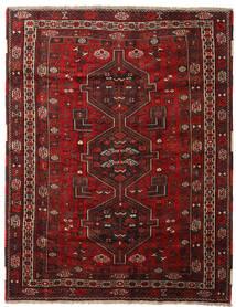 Kaszkaj Dywan 168X217 Orientalny Tkany Ręcznie Ciemnoczerwony (Wełna, Persja/Iran)