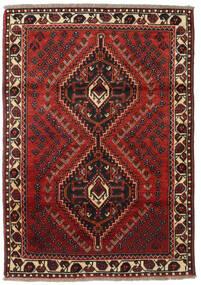 Shiraz Matto 111X161 Itämainen Käsinsolmittu (Villa, Persia/Iran)