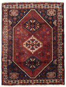 Shiraz Matto 121X158 Itämainen Käsinsolmittu (Villa, Persia/Iran)