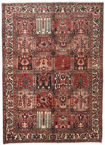 Bakhtiar Tappeto 150X208 Orientale Fatto A Mano Marrone Scuro/Rosso Scuro (Lana, Persia/Iran)