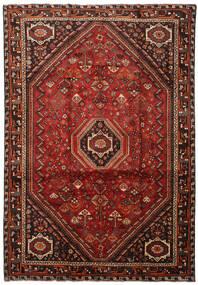 Shiraz Tæppe 215X307 Ægte Orientalsk Håndknyttet (Uld, Persien/Iran)