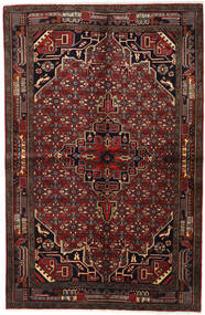 Koliai Rug 155X235 Authentic  Oriental Handknotted Dark Brown/Dark Red (Wool, Persia/Iran)