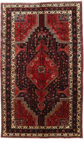 Hamadan Sag 150X250 Autentični Orijentalni Ručno Uzlan Tamnocrvena/Tamnosmeđa (Vuna, Perzija/Iran)