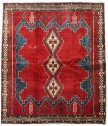 Afshar Tæppe 180X213 Ægte Orientalsk Håndknyttet Kvadratisk (Uld, Persien/Iran)