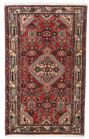 Asadabad Rug 75X122 Authentic  Oriental Handknotted (Wool, Persia/Iran)