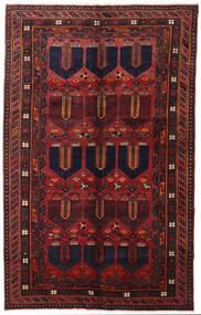 ロリ 絨毯 153X244 オリエンタル 手織り 深紅色の (ウール, ペルシャ/イラン)