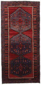 Hamadan Tæppe 75X160 Ægte Orientalsk Håndknyttet (Uld, Persien/Iran)