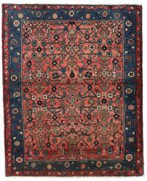 Hamadan Tæppe 92X115 Ægte Orientalsk Håndknyttet Kvadratisk (Uld, Persien/Iran)