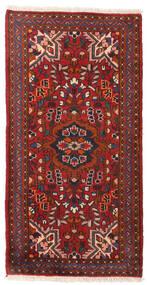 Lillian Χαλι 70X137 Ανατολής Χειροποιητο Σκούρο Κόκκινο/Μαύρα (Μαλλί, Περσικά/Ιρανικά)