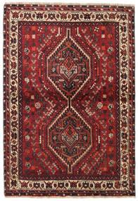 Shiraz Tæppe 106X155 Ægte Orientalsk Håndknyttet (Uld, Persien/Iran)