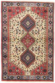 Yalameh Matto 98X147 Itämainen Käsinsolmittu Tummanpunainen/Tummanruskea (Villa, Persia/Iran)