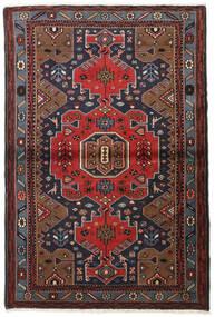 Hamadan Tæppe 100X150 Ægte Orientalsk Håndknyttet (Uld, Persien/Iran)