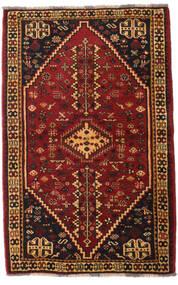Qashqai Szőnyeg 108X169 Keleti Csomózású Sötétbarna/Sötétpiros (Gyapjú, Perzsia/Irán)