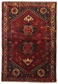 Ghashghai Matto 113X166 Itämainen Käsinsolmittu Tummanpunainen/Tummanruskea (Villa, Persia/Iran)