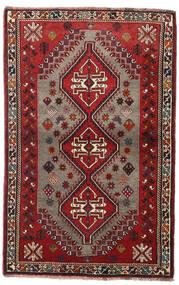 Qashqai Szőnyeg 110X170 Keleti Csomózású Sötétpiros/Sötétbarna (Gyapjú, Perzsia/Irán)