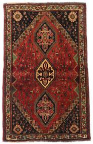 Ghashghai Covor 105X173 Orientale Lucrat Manual Maro Închis/Roșu-Închis (Lână, Persia/Iran)