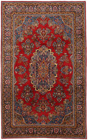 Mahal Rug 220X350 Authentic  Oriental Handknotted Dark Red/Dark Grey (Wool, Persia/Iran)