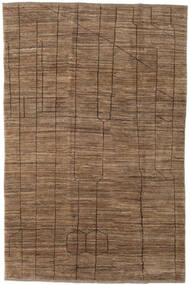 Loribaft Persia Rug 189X290 Authentic  Modern Handknotted Brown (Wool, Persia/Iran)