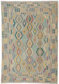 Kelim Afghan Old Style Tæppe 252X348 Ægte Orientalsk Håndvævet Stort (Uld, Afghanistan)