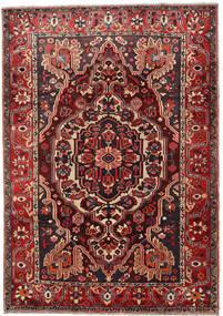Bakhtiar Tappeto 218X308 Orientale Fatto A Mano Rosso Scuro/Nero (Lana, Persia/Iran)