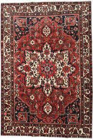Bakhtiar Tapis 213X307 D'orient Fait Main Rouge Foncé/Noir (Laine, Perse/Iran)