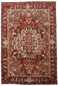 Bakhtiar Tappeto 205X305 Orientale Fatto A Mano Marrone Scuro/Rosso Scuro (Lana, Persia/Iran)