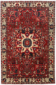 Bakhtiari Rug 204X307 Authentic Oriental Handknotted Dark Red/Black (Wool, Persia/Iran)