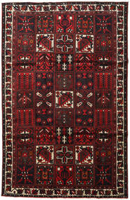 Bakhtiar Tappeto 202X313 Orientale Fatto A Mano Marrone Scuro/Rosso Scuro (Lana, Persia/Iran)