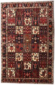 Bachtiar Teppich 206X317 Echter Orientalischer Handgeknüpfter Dunkelrot/Schwartz (Wolle, Persien/Iran)