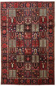 Baktjar Dywan 201X308 Orientalny Tkany Ręcznie Ciemnoczerwony (Wełna, Persja/Iran)
