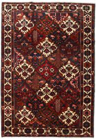 Bachtiar Teppich 220X316 Echter Orientalischer Handgeknüpfter Dunkelrot (Wolle, Persien/Iran)