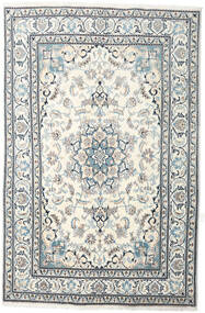 Nain Rug 199X301 Authentic Oriental Handknotted Beige/Light Grey (Wool, Persia/Iran)