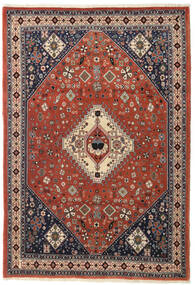 Qashqai Rug 116X168 Authentic  Oriental Handknotted Dark Red/Dark Brown (Wool, Persia/Iran)