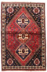 Qashqai Szőnyeg 109X169 Keleti Csomózású Sötétpiros/Fekete (Gyapjú, Perzsia/Irán)
