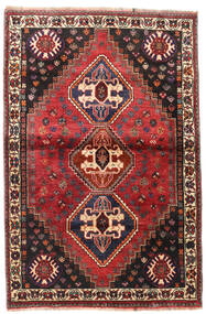 Gashgai Alfombra 109X169 Oriental Hecha A Mano Rojo Oscuro/Negro (Lana, Persia/Irán)