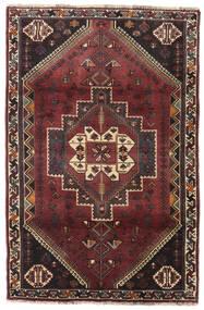 Ghashghai Matto 106X162 Itämainen Käsinsolmittu Tummanruskea/Tummanpunainen (Villa, Persia/Iran)