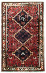 Qashqai Szőnyeg 110X180 Keleti Csomózású Sötétpiros/Fekete (Gyapjú, Perzsia/Irán)