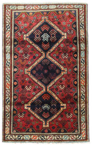 Qashqai Rug 110X180 Authentic  Oriental Handknotted Dark Red/Black (Wool, Persia/Iran)