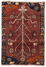 Qashqai Rug 110X161 Authentic  Oriental Handknotted (Wool, Persia/Iran)