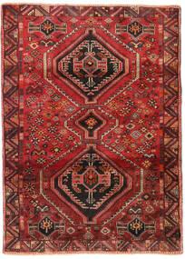 Ghashghai Matto 117X162 Itämainen Käsinsolmittu Tummanpunainen/Ruoste (Villa, Persia/Iran)
