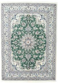 Nain Matto 145X192 Itämainen Käsinsolmittu Vaaleanharmaa (Villa, Persia/Iran)