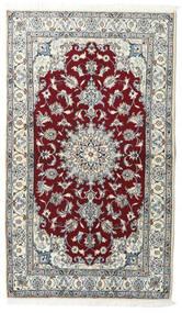 Nain Matto 119X206 Itämainen Käsinsolmittu Vaaleanharmaa/Beige (Villa, Persia/Iran)