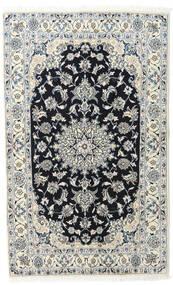 Nain Matta 120X195 Äkta Orientalisk Handknuten Ljusgrå/Mörkgrå (Ull, Persien/Iran)