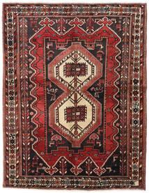 Afshar Tappeto 160X208 Orientale Fatto A Mano Rosso Scuro/Marrone Scuro (Lana, Persia/Iran)